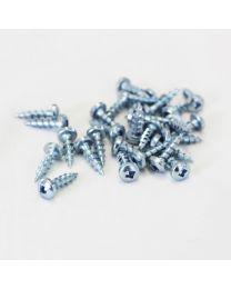 8g x 5/8 Pan Head Screws #2 Sq Drive (1000 per box)