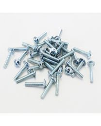 Screws M4 x 25mm Std 100PK