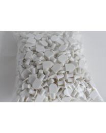 Plastic Shelf Support Wht 500
