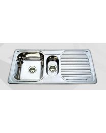 Sink - 1 1/4 Bowl with Drainer